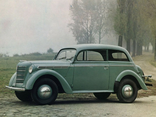 Автомобиль Москвич 400